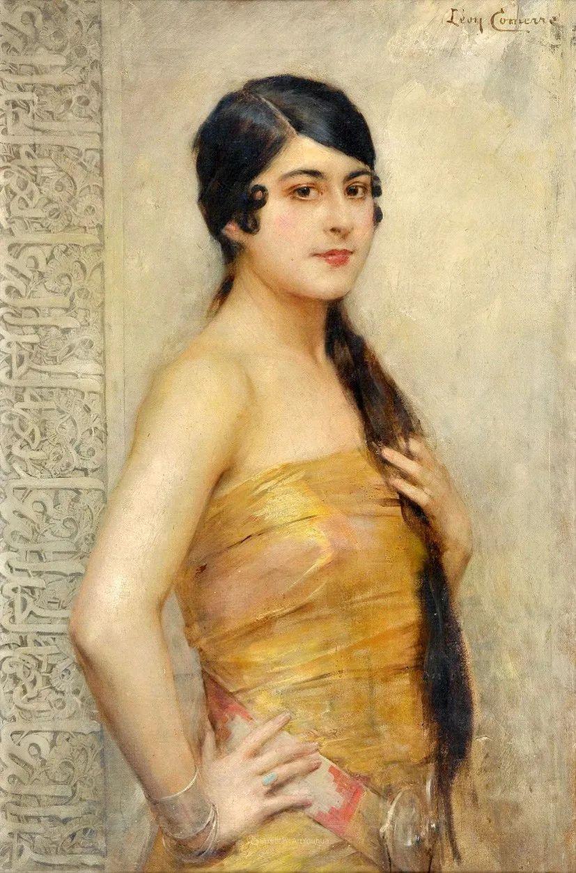 法国学院派画家科默尔,笔下的美丽女性插图25