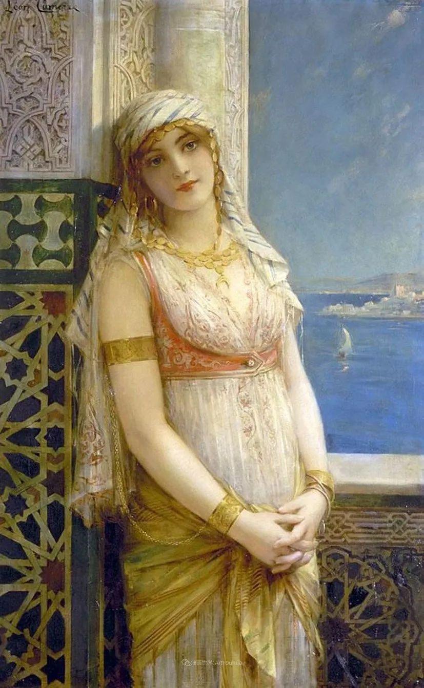 法国学院派画家科默尔,笔下的美丽女性插图29