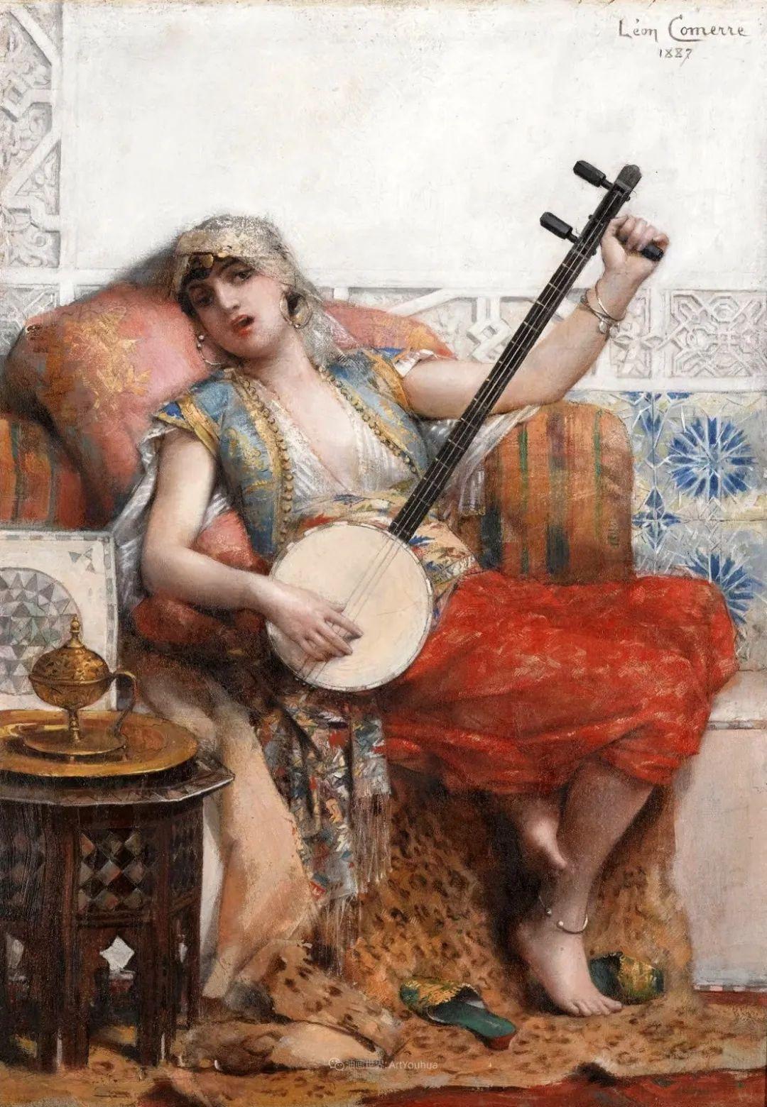 法国学院派画家科默尔,笔下的美丽女性插图33