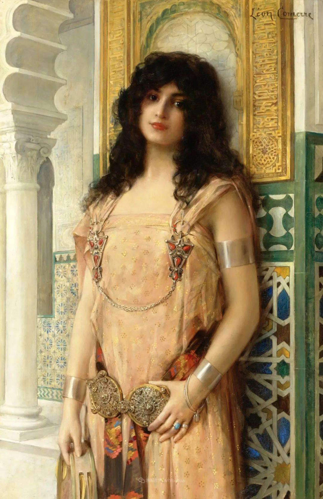 法国学院派画家科默尔,笔下的美丽女性插图39