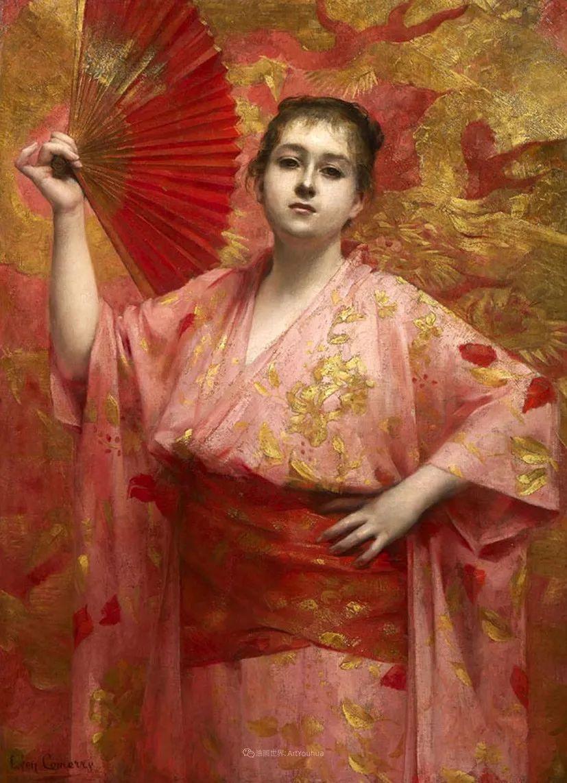 法国学院派画家科默尔,笔下的美丽女性插图49