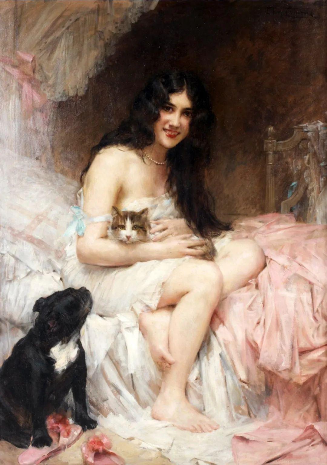 法国学院派画家科默尔,笔下的美丽女性插图53