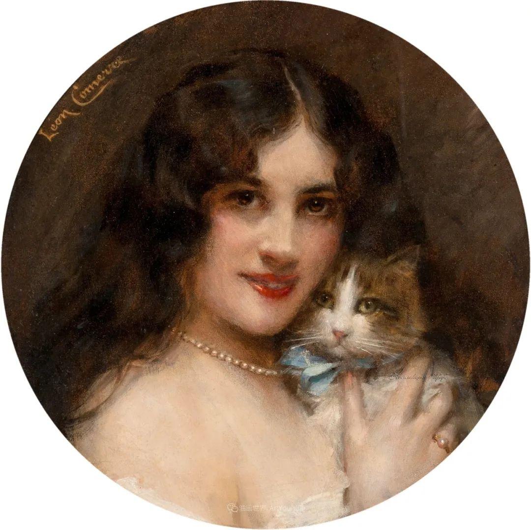 法国学院派画家科默尔,笔下的美丽女性插图57