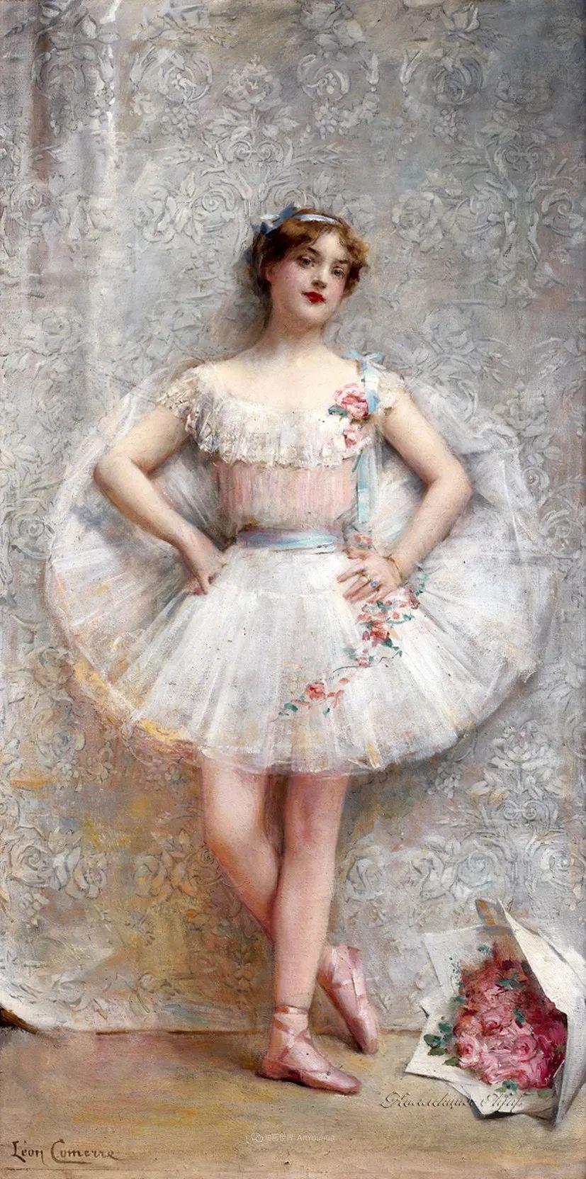 法国学院派画家科默尔,笔下的美丽女性插图63