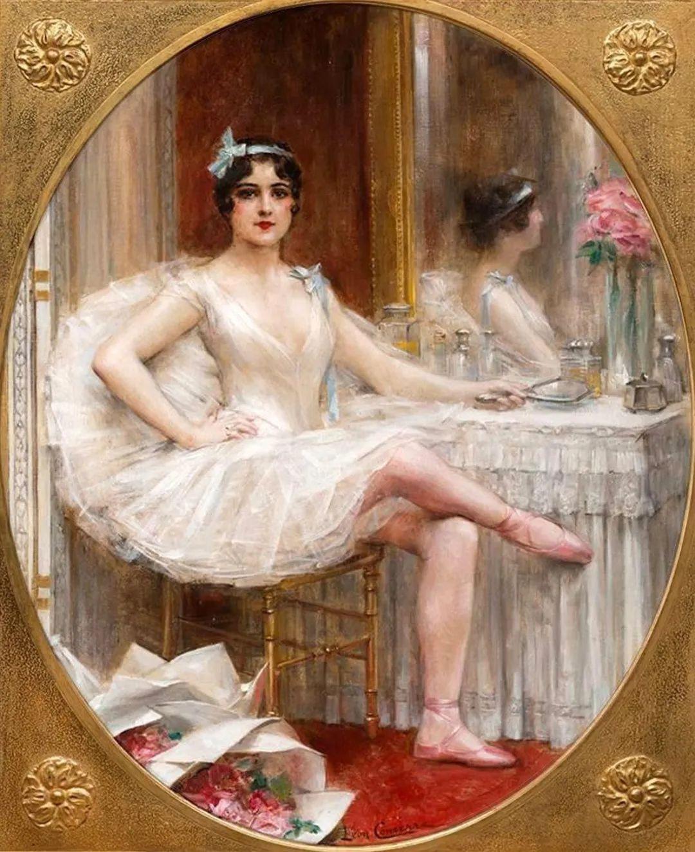 法国学院派画家科默尔,笔下的美丽女性插图65