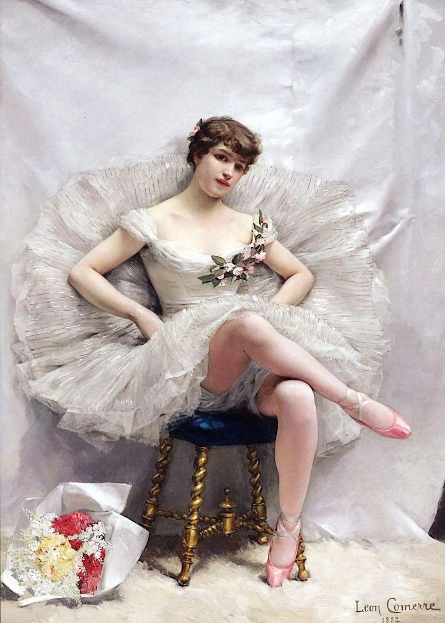 法国学院派画家科默尔,笔下的美丽女性插图69