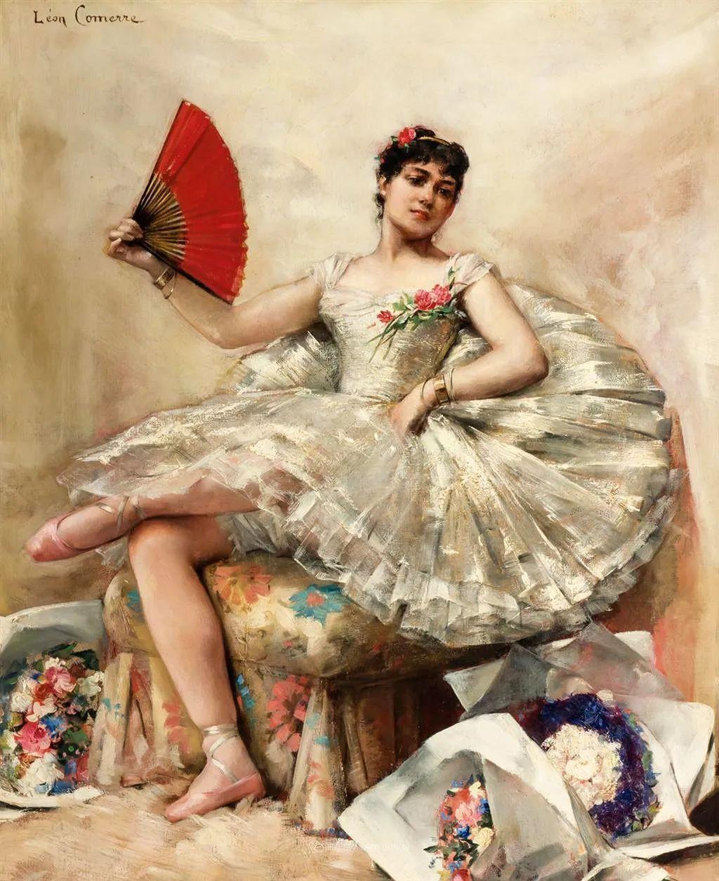 法国学院派画家科默尔,笔下的美丽女性插图73