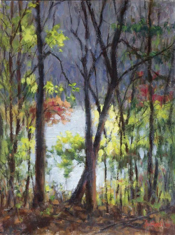 风景欣赏,美国女画家苏·福尔画选 (下)插图11