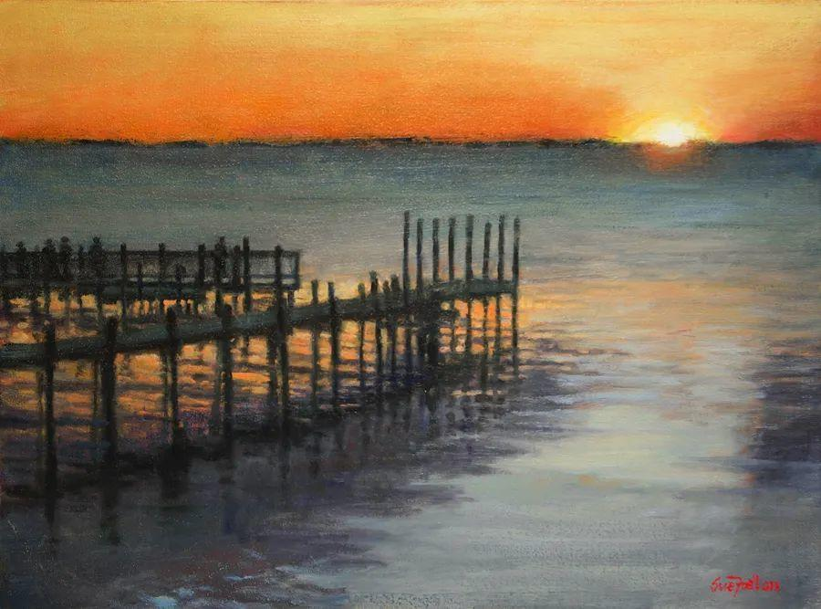 风景欣赏,美国女画家苏·福尔画选 (下)插图15
