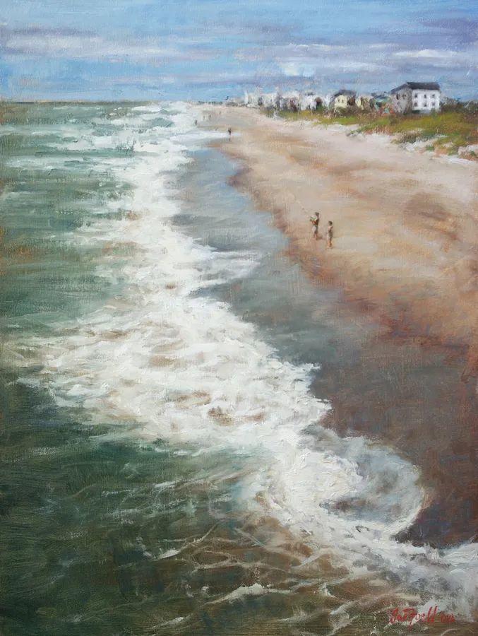 风景欣赏,美国女画家苏·福尔画选 (下)插图33