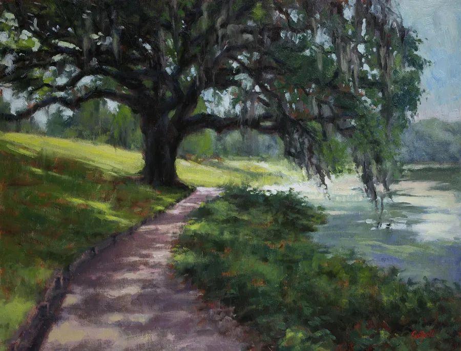 风景欣赏,美国女画家苏·福尔画选 (下)插图43