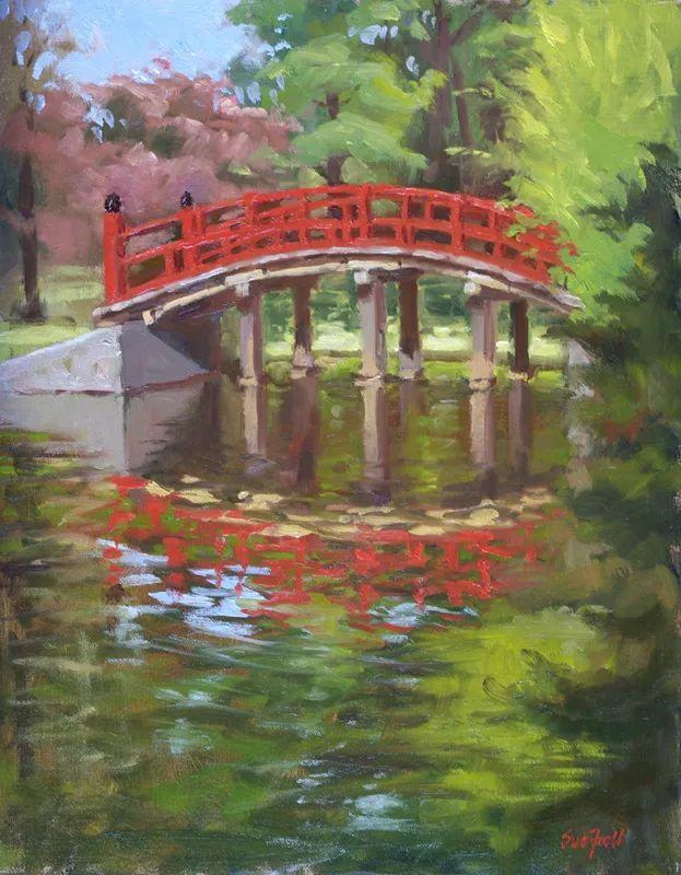 风景欣赏,美国女画家苏·福尔画选 (下)插图47