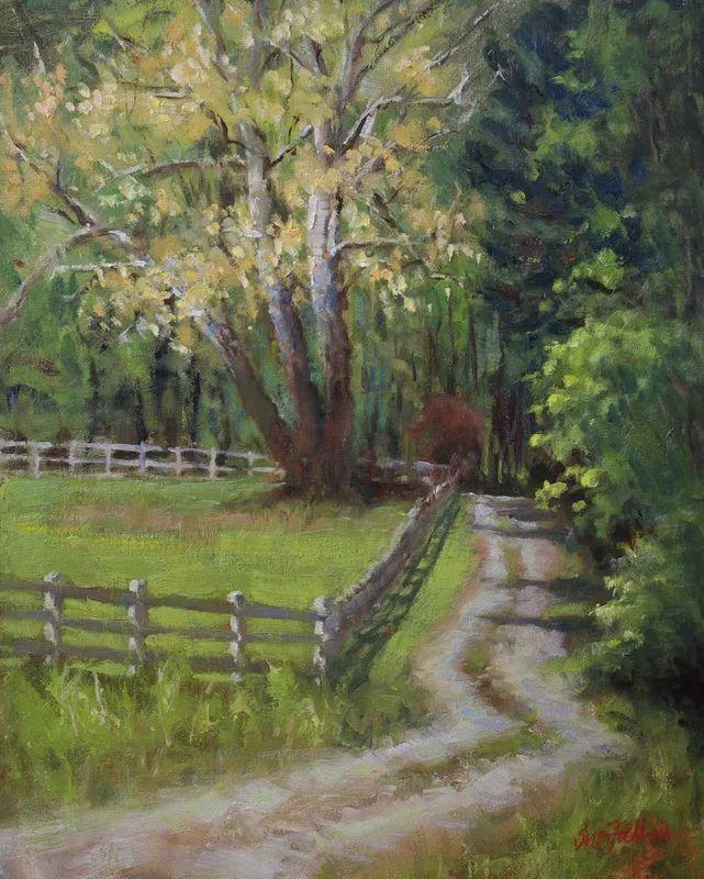 风景欣赏,美国女画家苏·福尔画选 (下)插图65