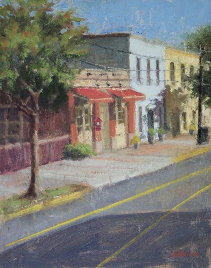 风景欣赏,美国女画家苏·福尔画选 (下)插图75