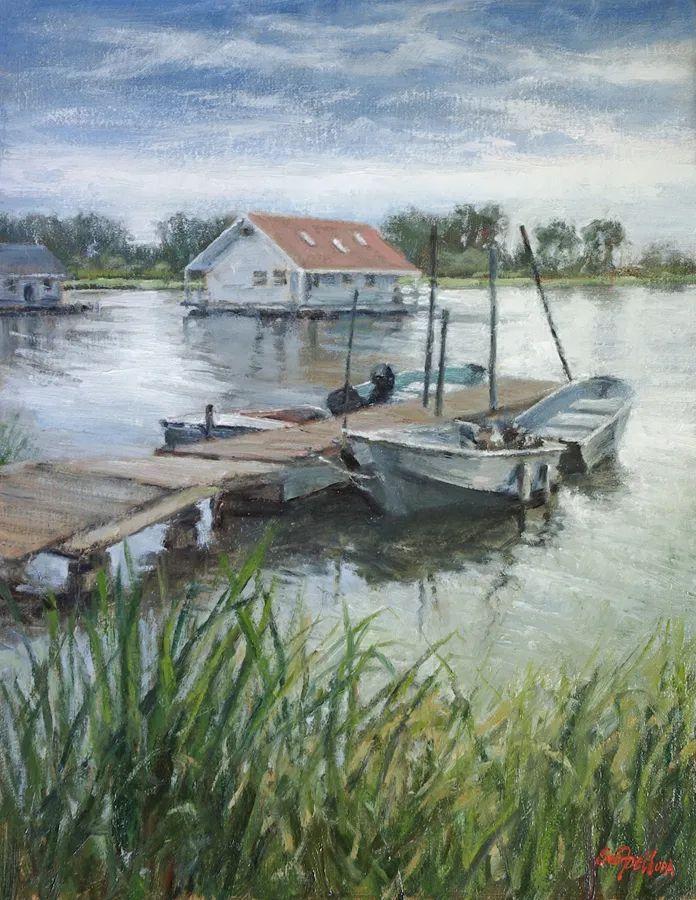风景欣赏,美国女画家苏·福尔画选 (下)插图87