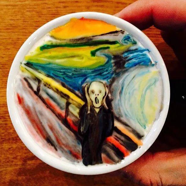 咖啡上的名画,你还舍得喝?插图11