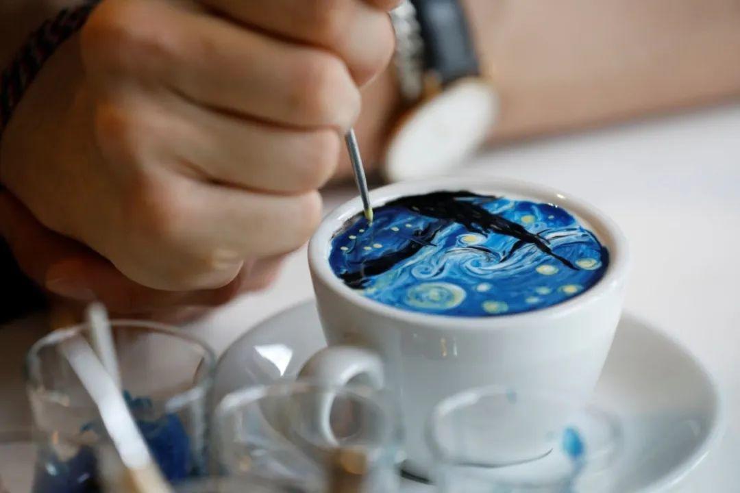 咖啡上的名画,你还舍得喝?插图13