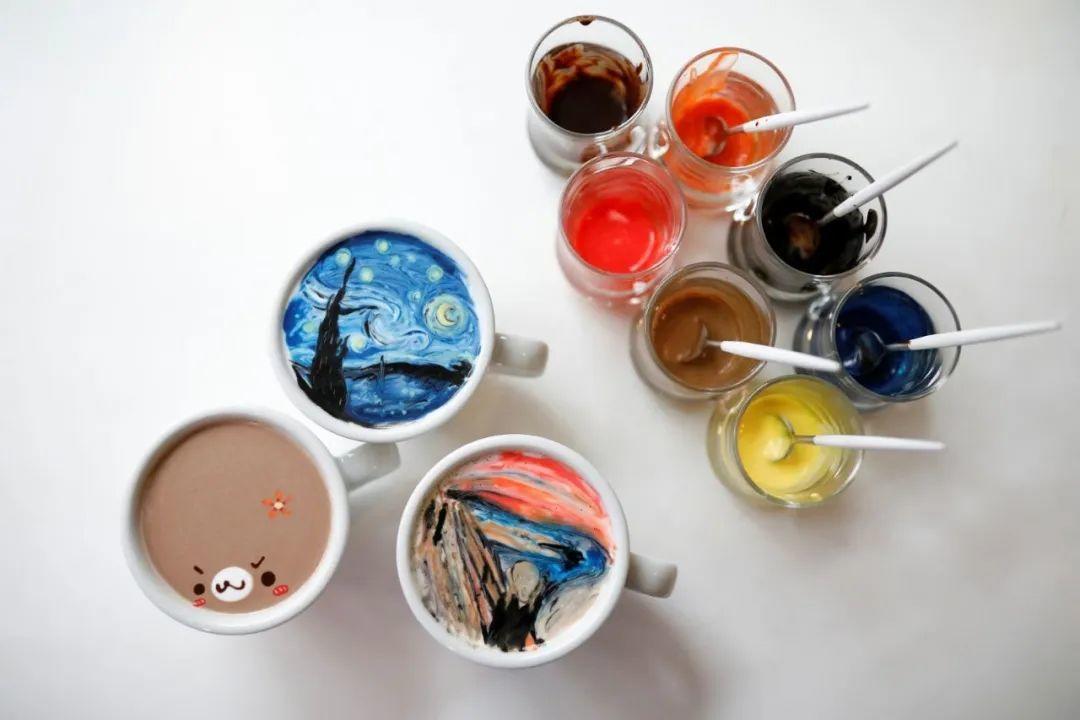 咖啡上的名画,你还舍得喝?插图15