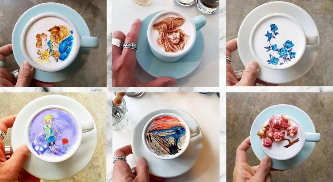 咖啡上的名画,你还舍得喝?插图19