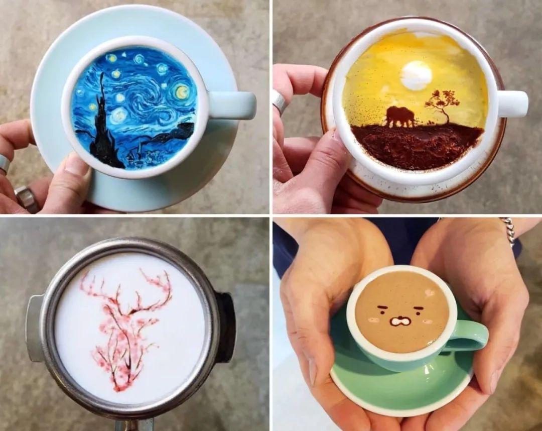 咖啡上的名画,你还舍得喝?插图21