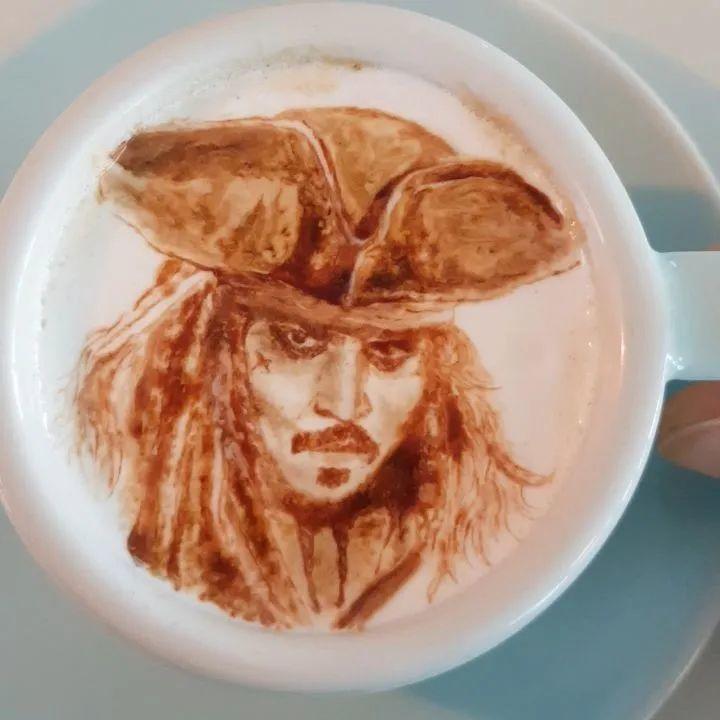 咖啡上的名画,你还舍得喝?插图27