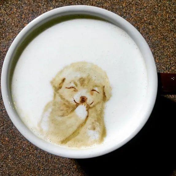 咖啡上的名画,你还舍得喝?插图41