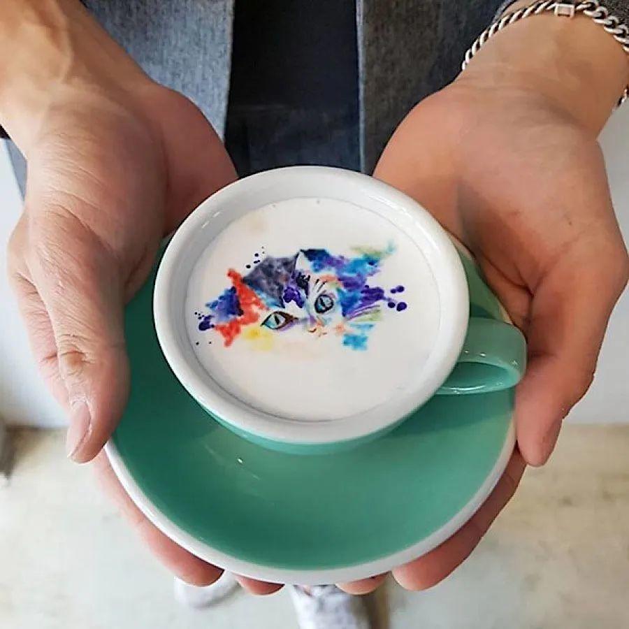 咖啡上的名画,你还舍得喝?插图51