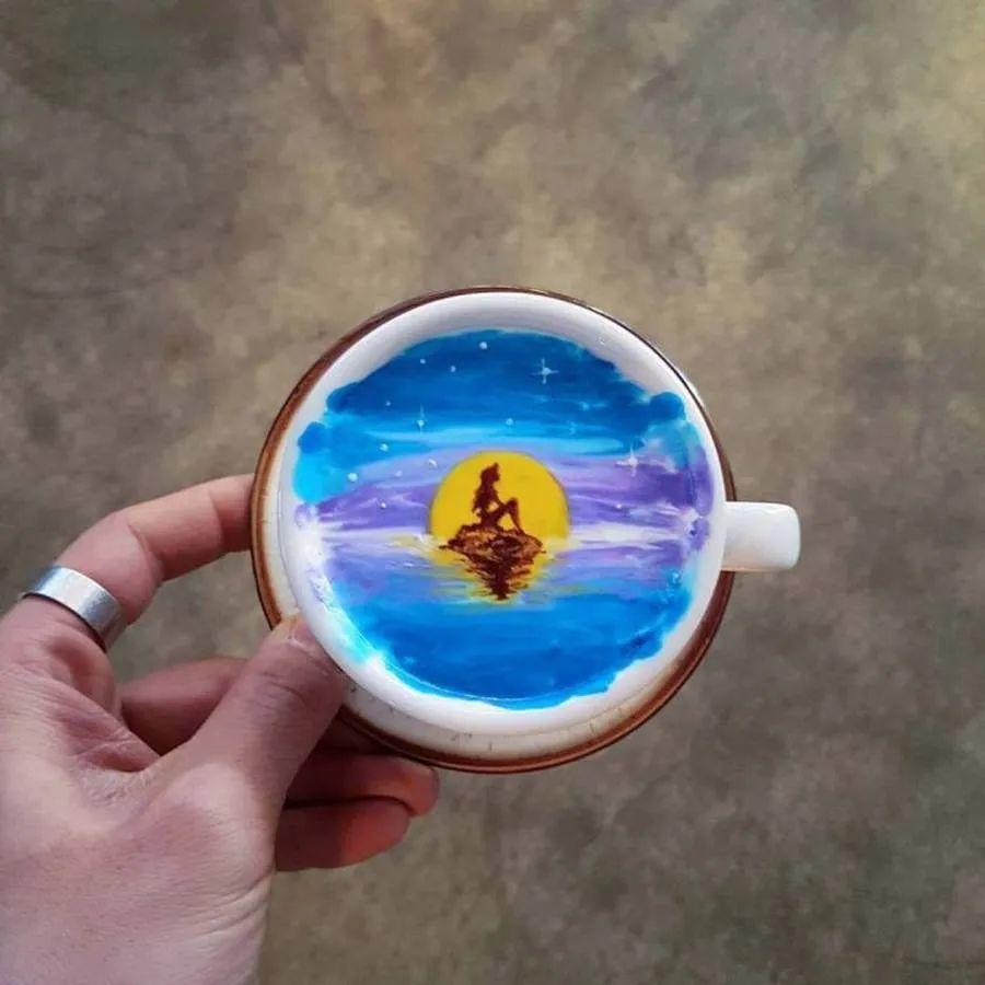 咖啡上的名画,你还舍得喝?插图53