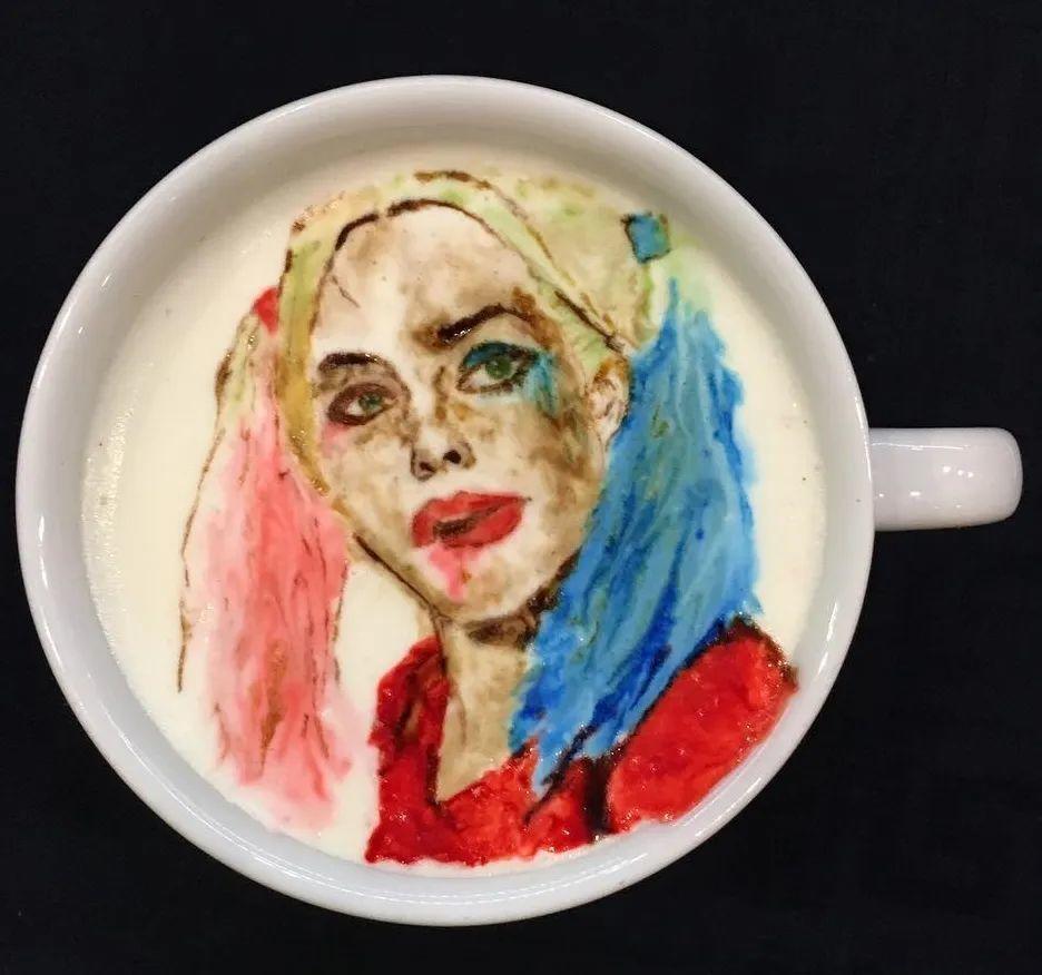 咖啡上的名画,你还舍得喝?插图59