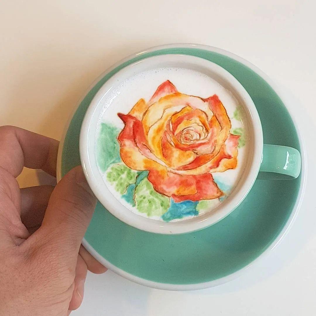 咖啡上的名画,你还舍得喝?插图63
