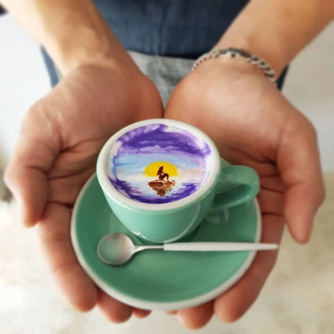 咖啡上的名画,你还舍得喝?插图67