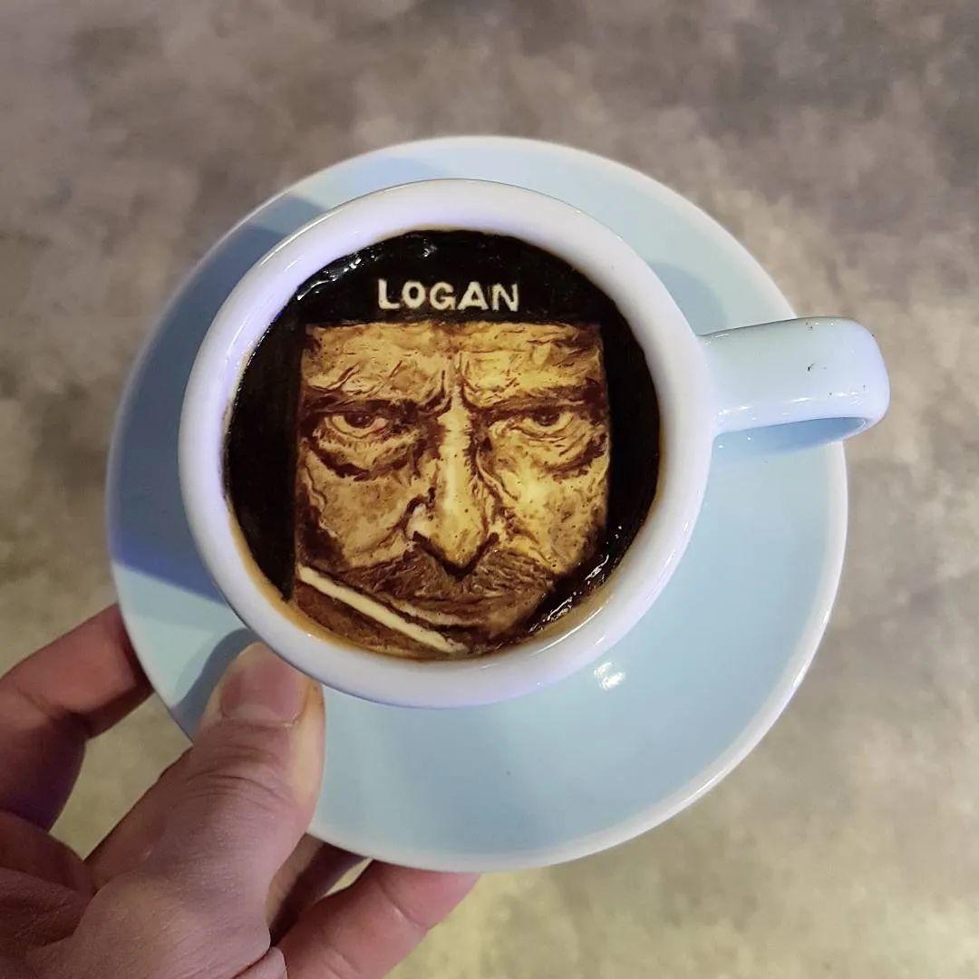 咖啡上的名画,你还舍得喝?插图87