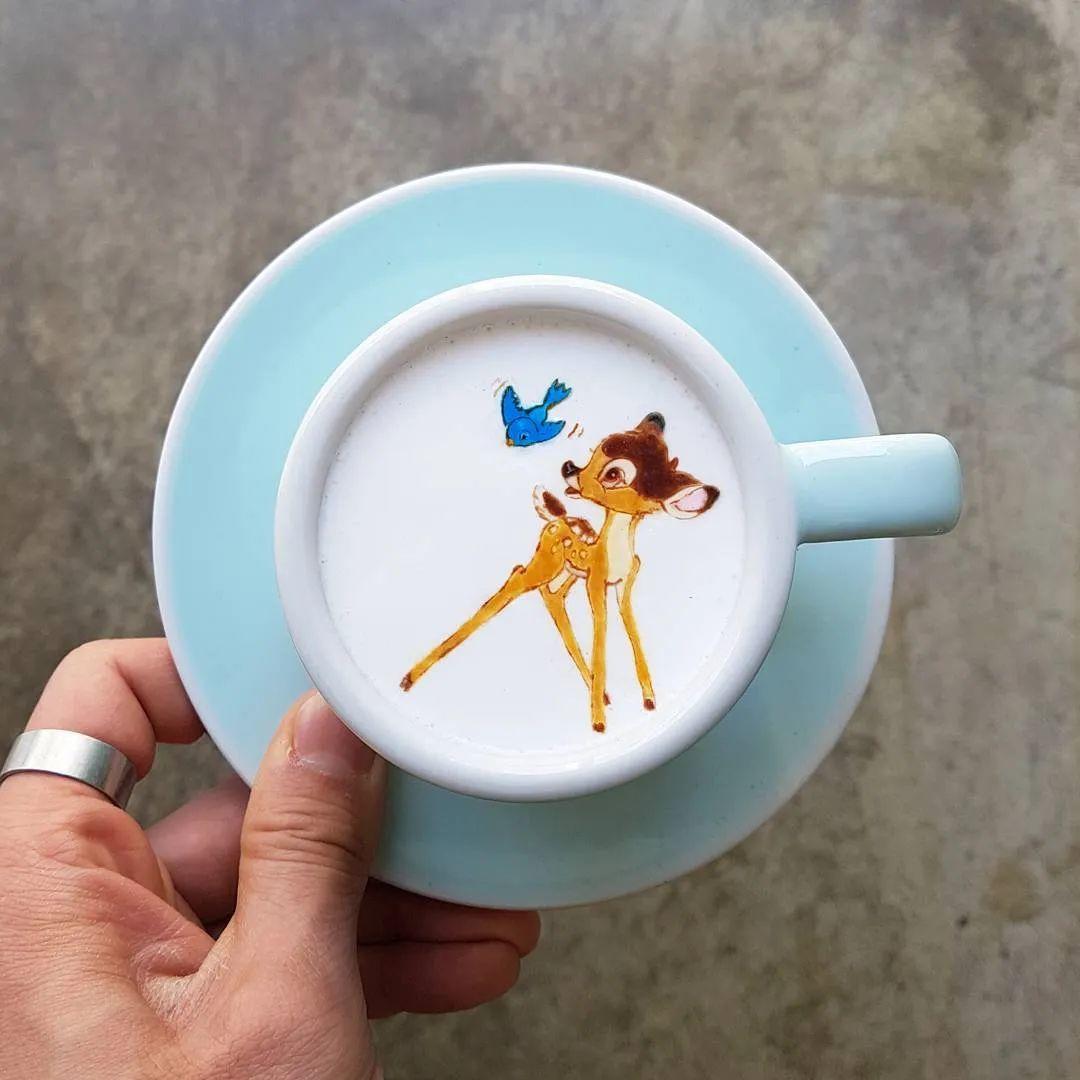 咖啡上的名画,你还舍得喝?插图91