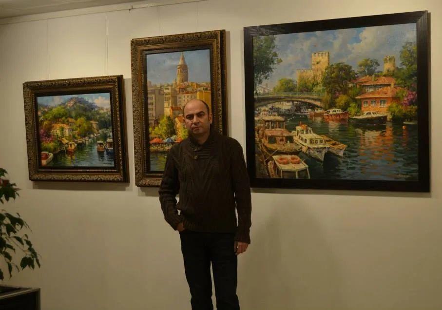 土耳其画家布伦特·基尔奇作品选插图1