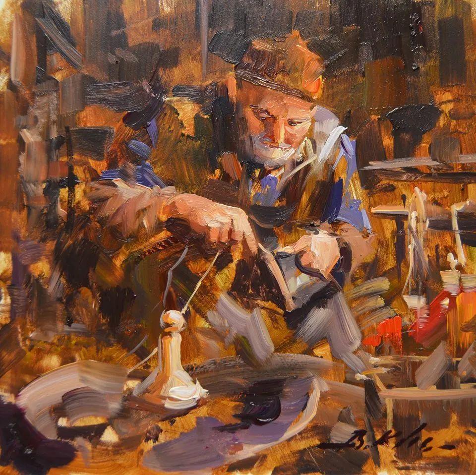 土耳其画家布伦特·基尔奇作品选插图2
