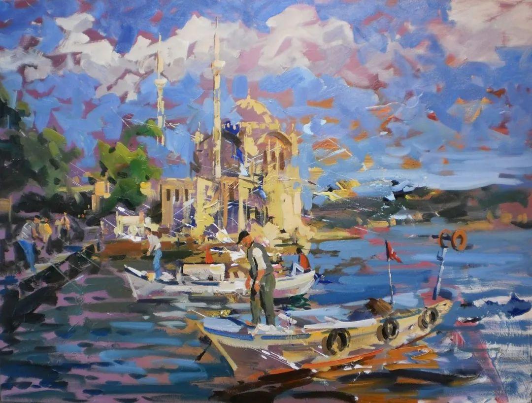 土耳其画家布伦特·基尔奇作品选插图4