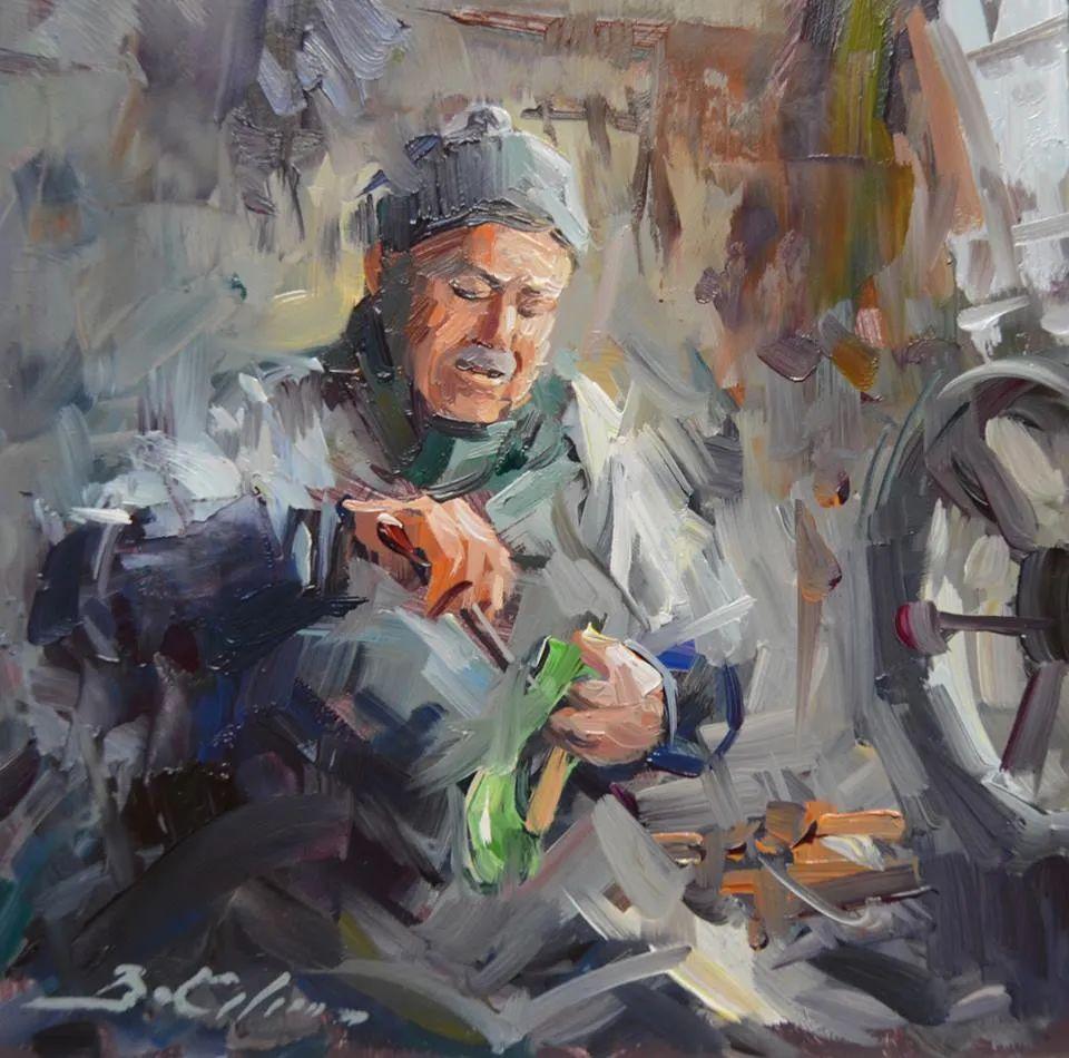 土耳其画家布伦特·基尔奇作品选插图6