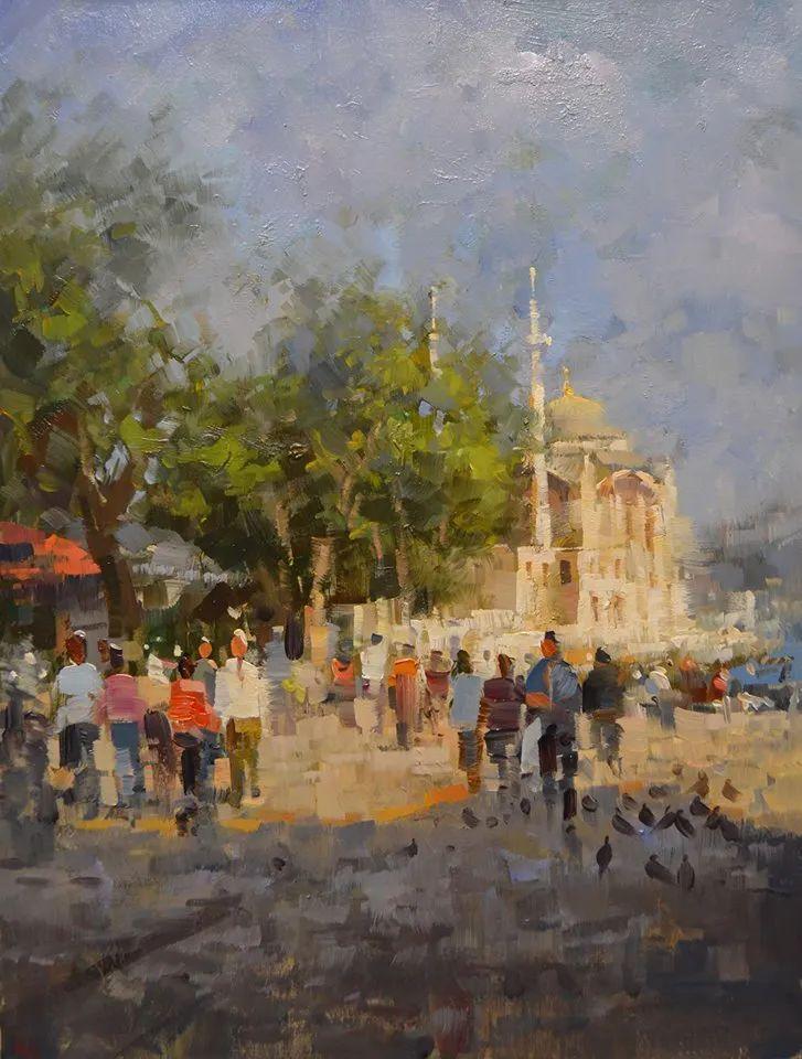 土耳其画家布伦特·基尔奇作品选插图10