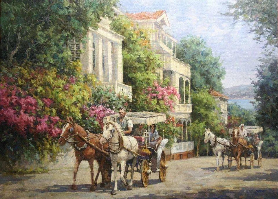 土耳其画家布伦特·基尔奇作品选插图11