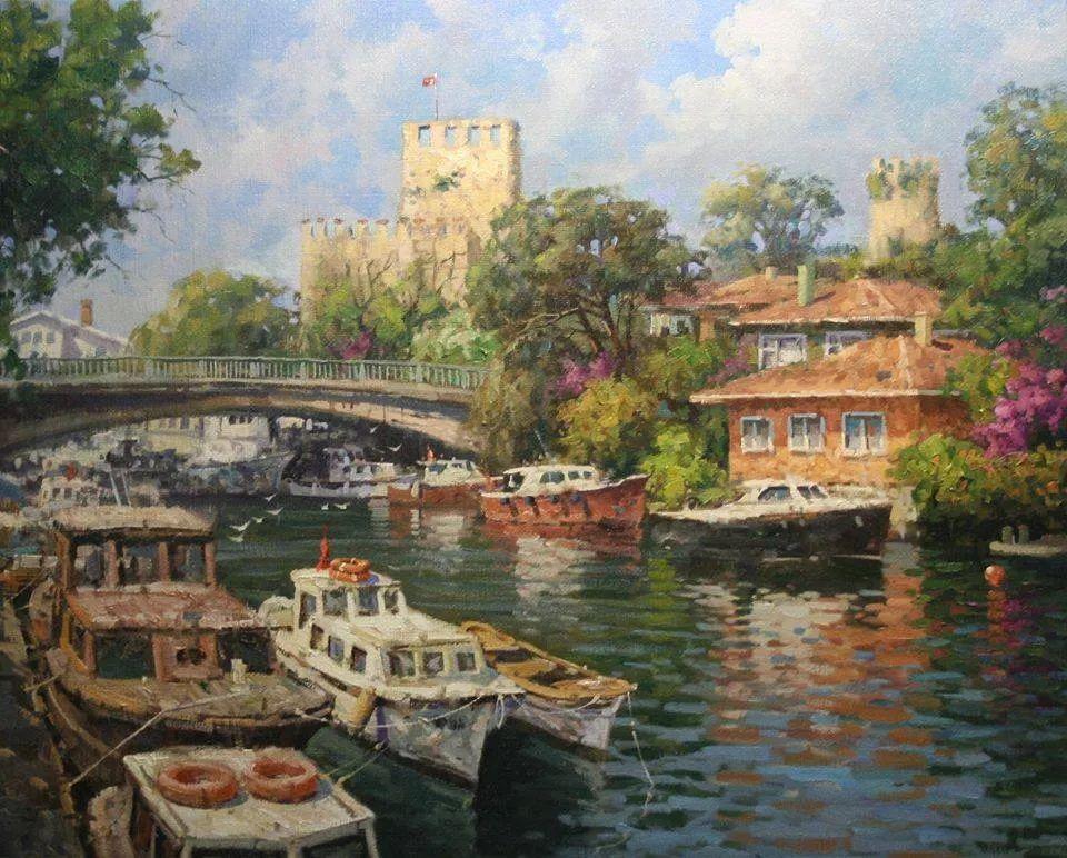 土耳其画家布伦特·基尔奇作品选插图12
