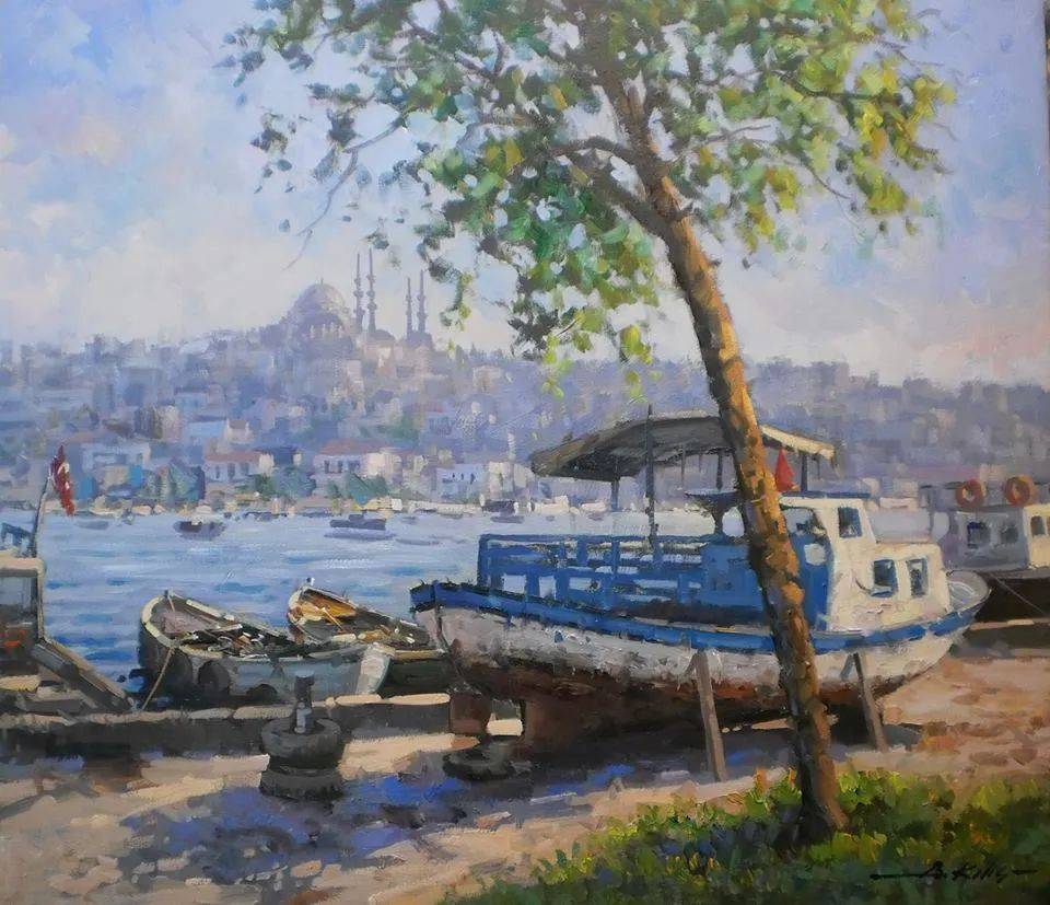 土耳其画家布伦特·基尔奇作品选插图13