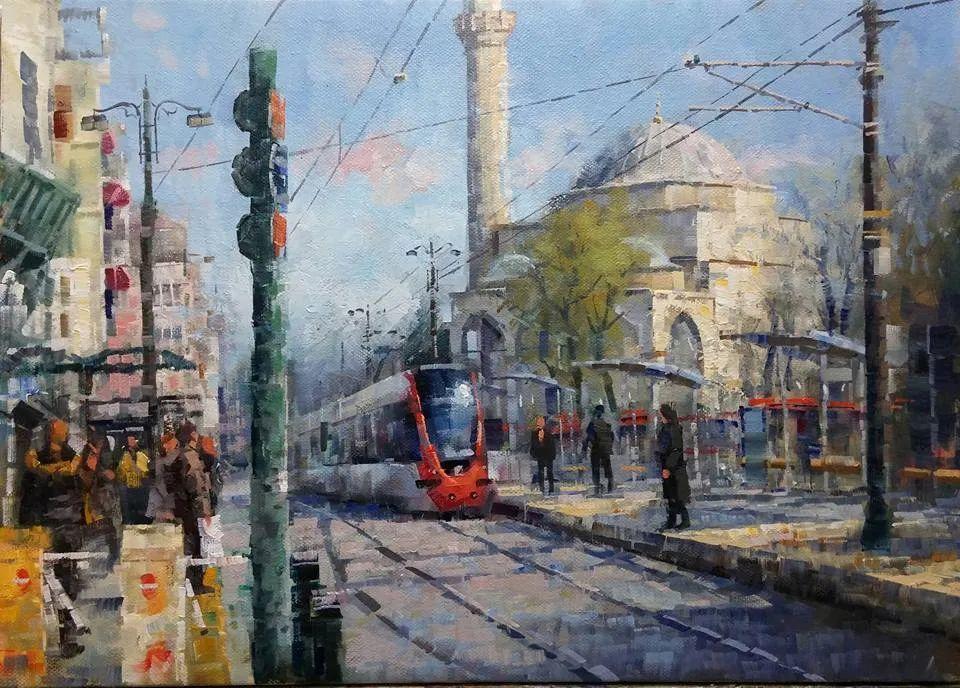土耳其画家布伦特·基尔奇作品选插图15