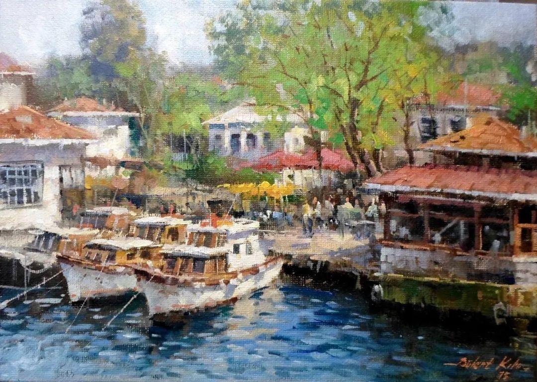 土耳其画家布伦特·基尔奇作品选插图16