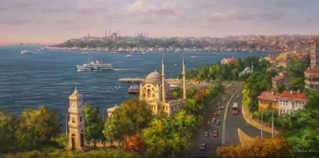 土耳其画家布伦特·基尔奇作品选插图20