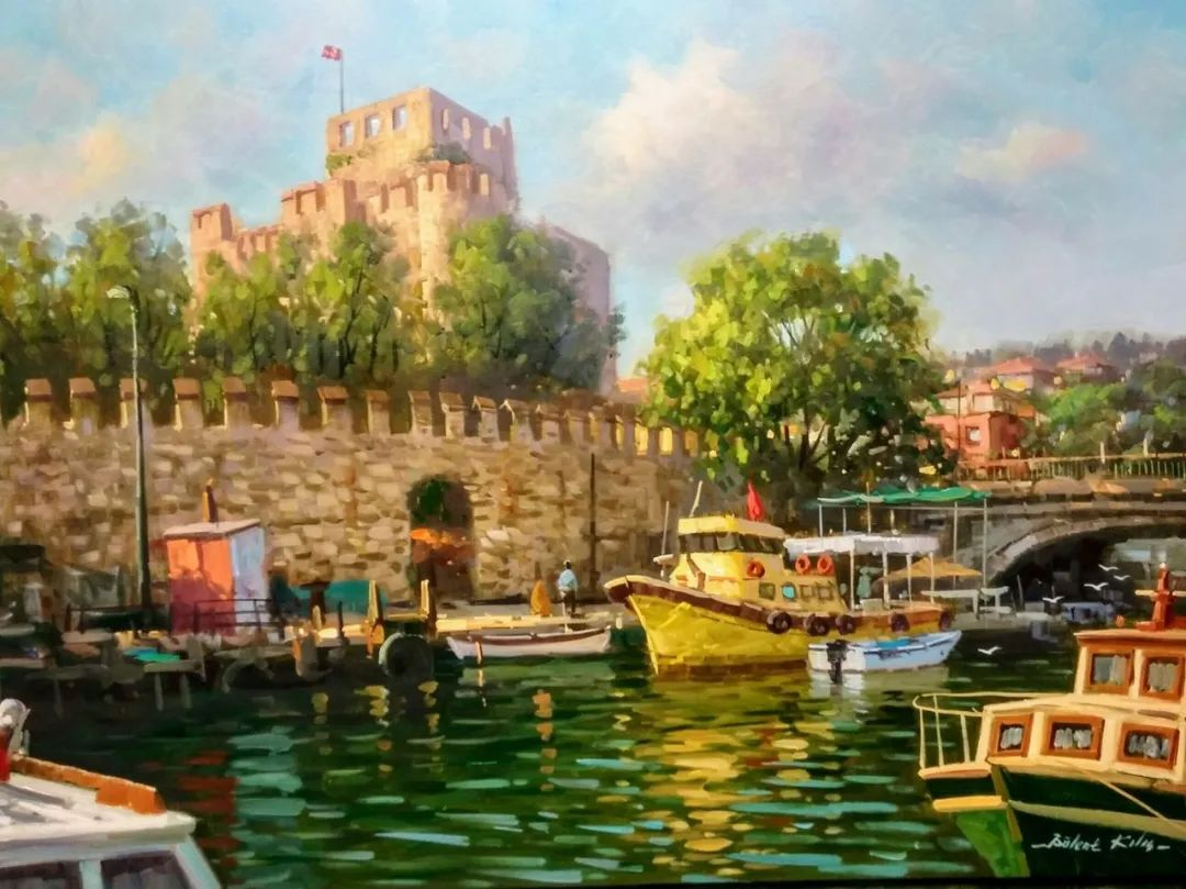 土耳其画家布伦特·基尔奇作品选插图23