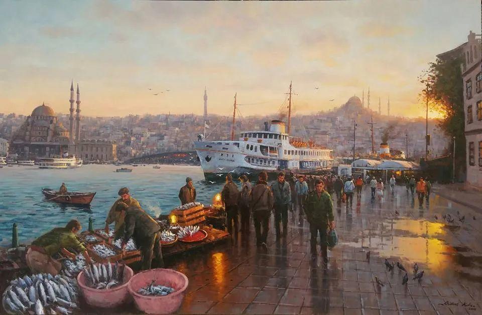 土耳其画家布伦特·基尔奇作品选插图31