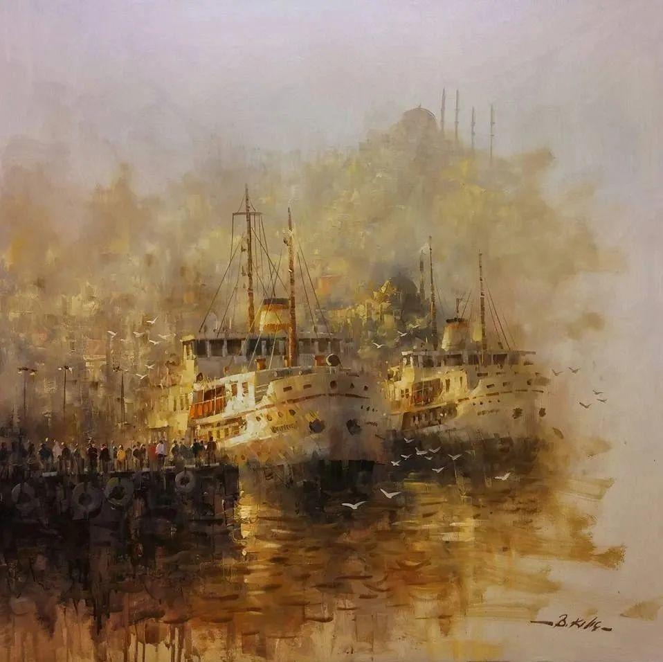 土耳其画家布伦特·基尔奇作品选插图33