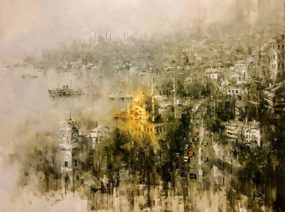 土耳其画家布伦特·基尔奇作品选插图42