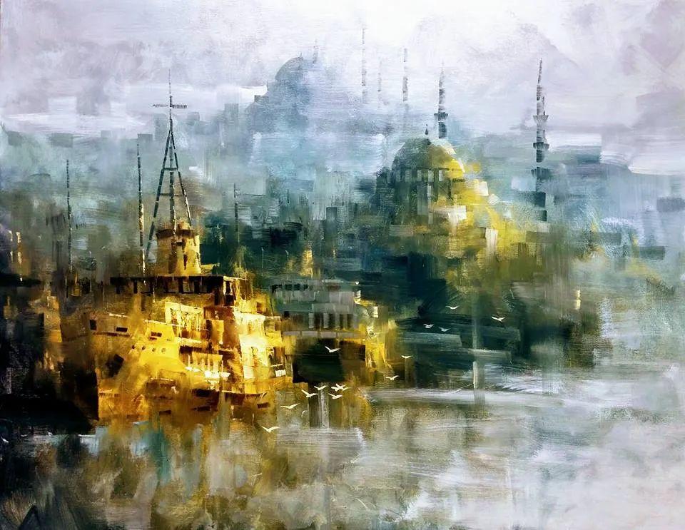土耳其画家布伦特·基尔奇作品选插图43