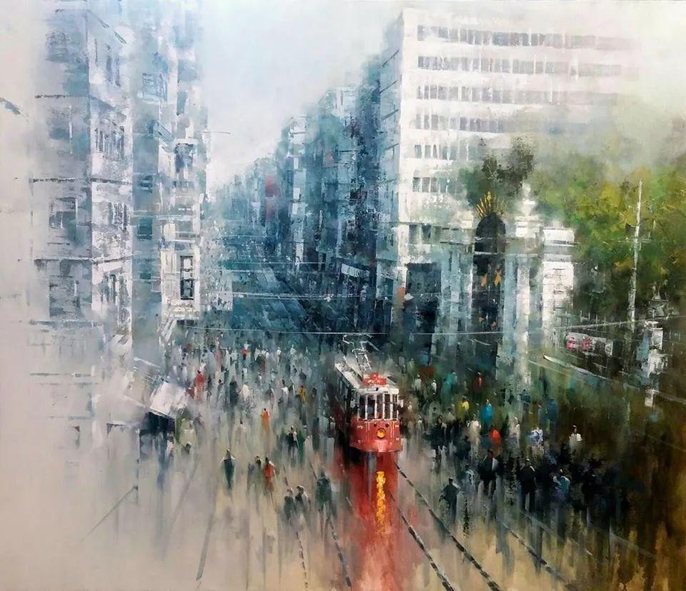 土耳其画家布伦特·基尔奇作品选插图44